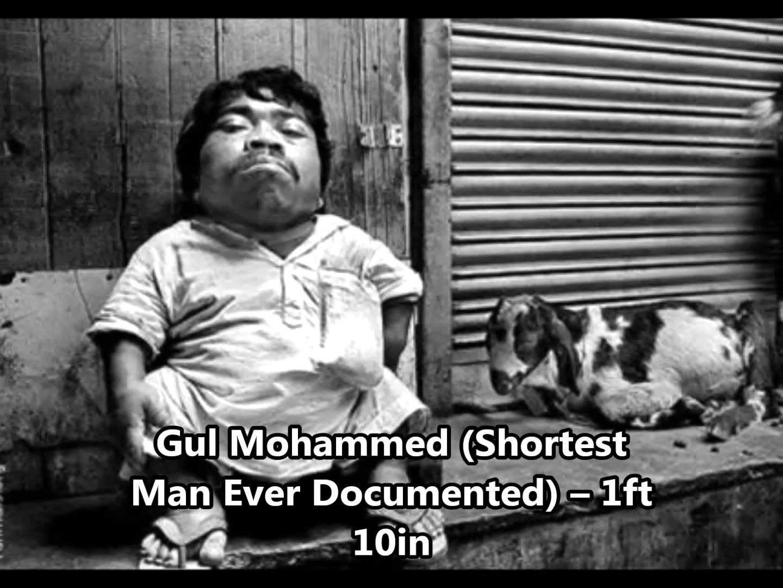 Gul-Mohammed-manusia-terpendek-di-dunia