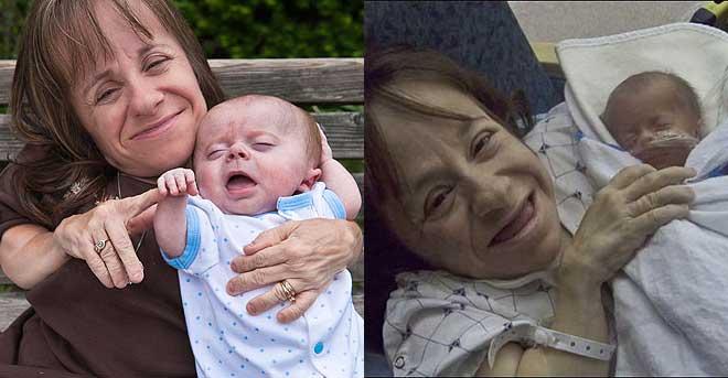 Stacey Herald Ibu Terkecil di Dunia