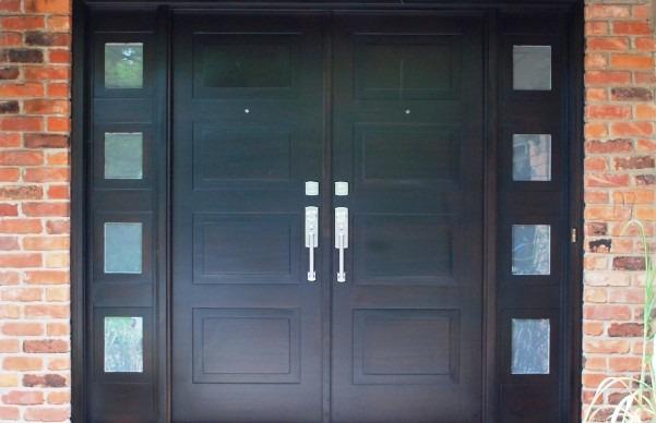 Gagang Pintu Untuk Double Panel Doors