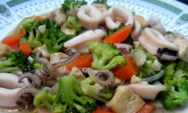 Resep Aneka Sayur Sederhana - Resep sayur brokoli saus tiram