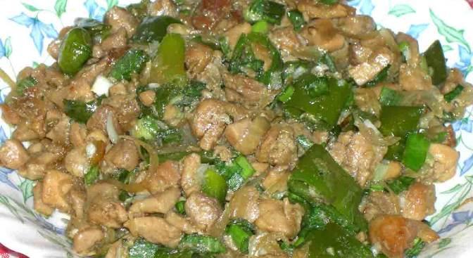 Daging Cincang Tumis