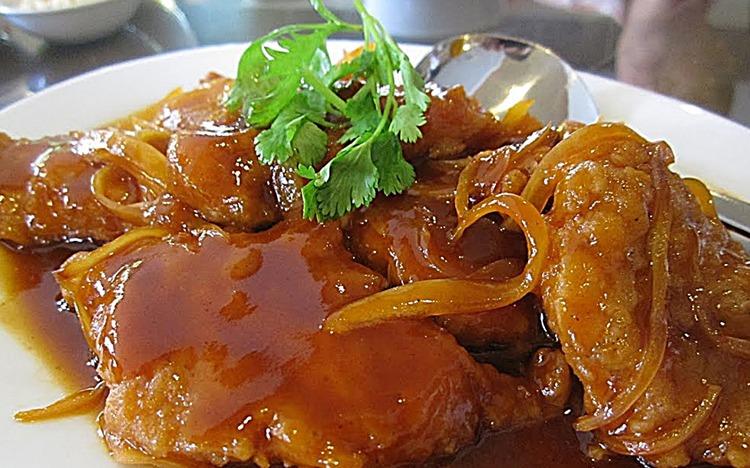Cara Masak Ayam Asam Manis dan Sayur Ayam