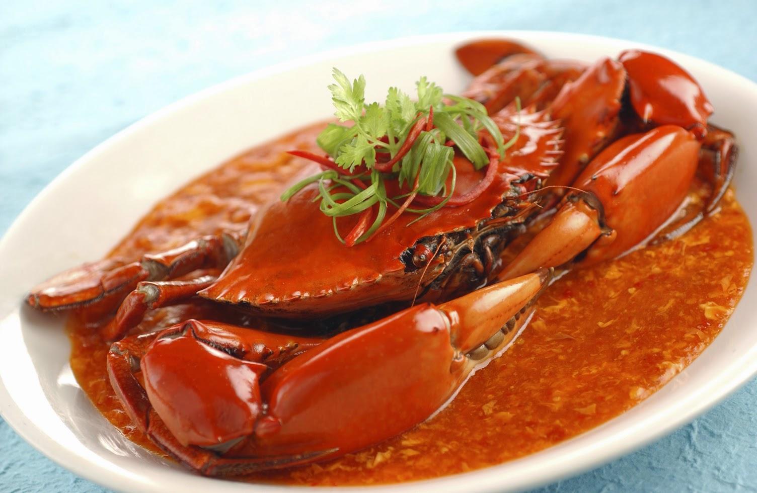Masakan Kepiting