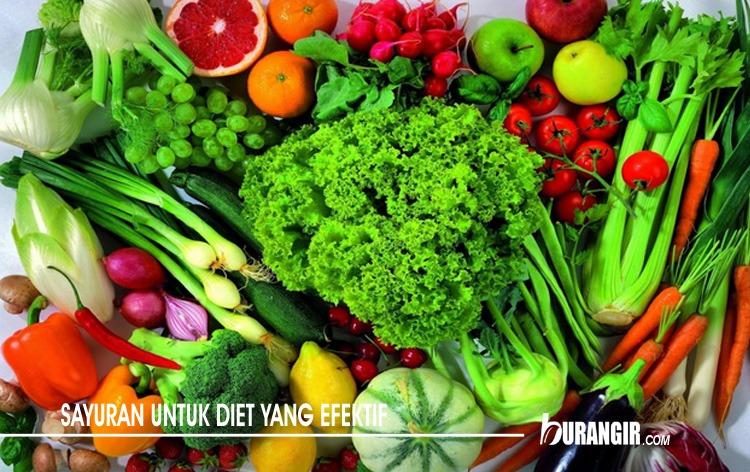 Sayuran Untuk Diet Yang Efektif
