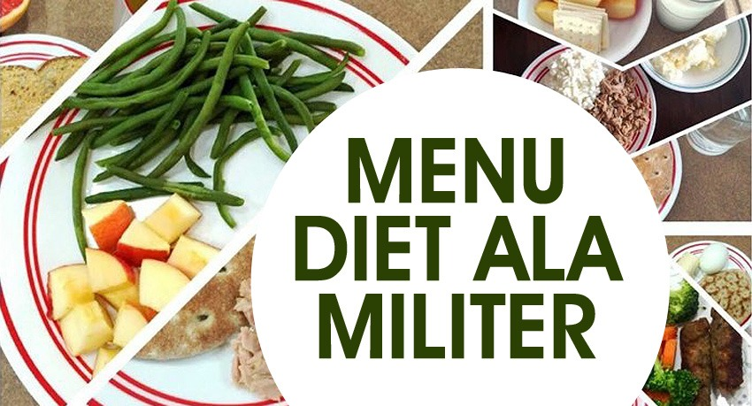 Menu Diet Ala Militer