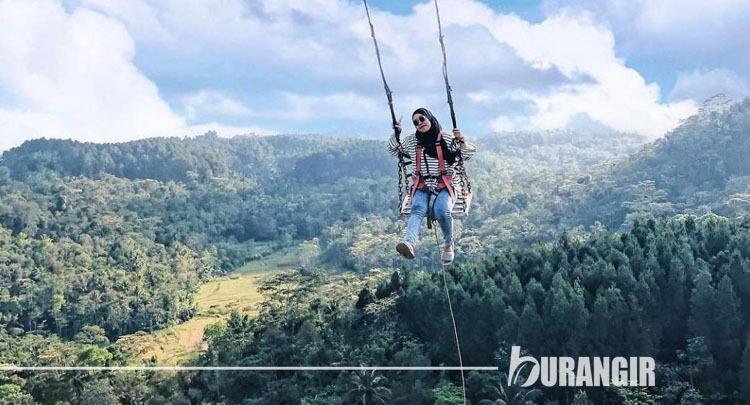 Ayunan Langit Kulon Progo - Objek Wisata Ayunan Ekstrim Indonesia
